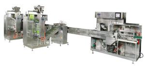 DDBH100颗粒小袋自动分装、装盒生产线
